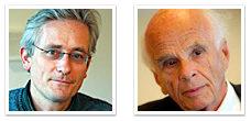 Ervin Lazlo und Tom Steininger