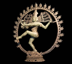 Shiva in his cosmic dance